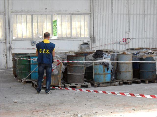 Discarica abusiva di rifiuti tossici a Bardano