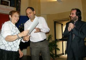 Il sindaco Tiracorrendo premia i nuovi talenti della musica