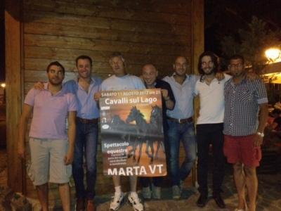 """Giochi e spettacoli equestri, torna a Marta la IV^ edizione di """"Cavalli sul lago"""""""