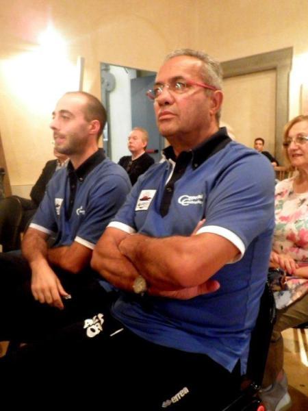 Premio a Angelo Bondi, coach di Azzurra Ceprini Costruzioni Orvieto