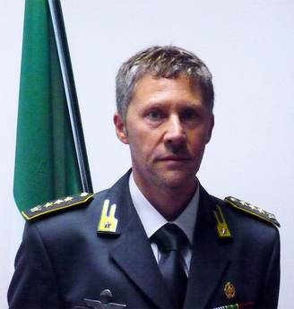 Il colonnello Farruggio nuovo comandante della GdF di Terni