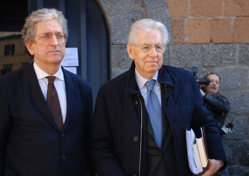 Monti a Orvieto: 'Riformisti uniti dopo il voto'