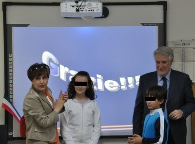 Inaugurazione delle Lavagne Interattive Multimediali della scuola primaria di Sferracavallo