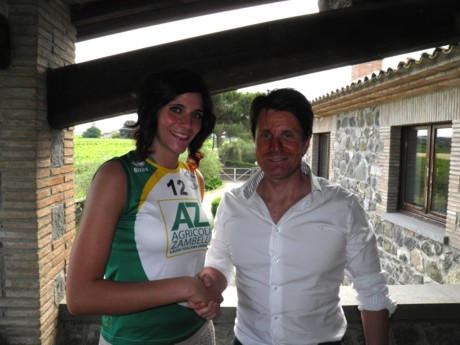 Erica Lestini vestirà la maglia bianco verde