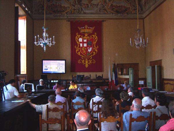 Mitigazione rischio idraulico: a Orvieto assessore Rometti presenta studio e fa il punto su realizzazione interventi