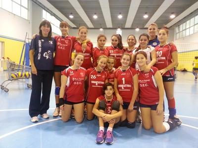 Fantastica prestazione delle ragazze di coach Moriconi e Foggia