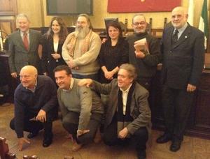 Attestato di benemerenza 2014 a don Augusto PASSERI, Giulio GRAZIANI, padre Adelio PAGNINI e alla memoria a Massimo Gilibini