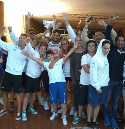 Uisp nuoto Orvieto. Terzo posto ai campionati regionali assoluti Fin
