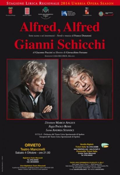 Alfred Alfred - G. Schicchi locandina