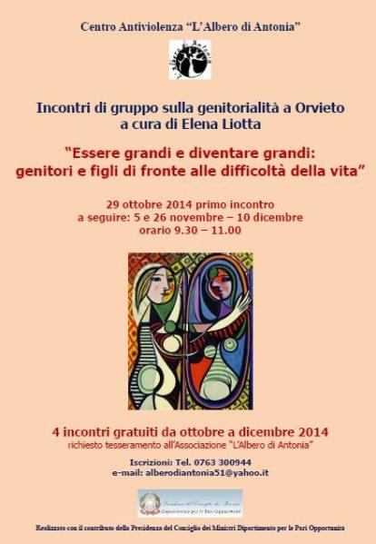 A Orvieto incontri sulla genitorialità rivolti alle madri