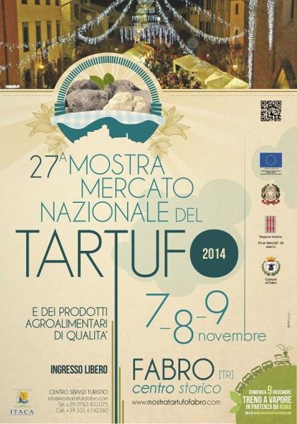 Tutto pronto (o quasi) per la Mostra Mercato Nazionale del Tartufo e dei prodotti agroalimentari di Qualità di Fabro