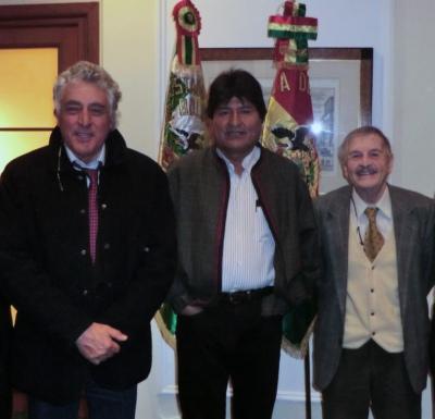 Il presidente della Bolivia ha incontrato un orvietano (di adozione) responsabile scientifico di Accademia Kronos