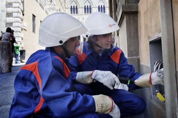 Lavori sulla linea elettrica, chiuso l'asilo nido di Porano