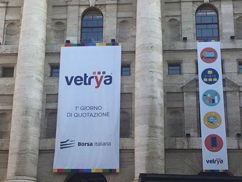 Vetrya, esordio frizzante in Borsa: +10% al debutto in Piazza Affari