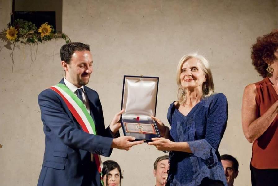 Primo premio letterario Lugnano a Pignatelli con  Ruggine