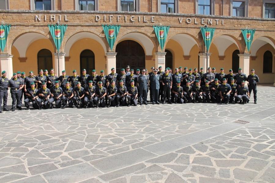 """Cerimonia conclusiva del 37esimo corso """"Antiterrorismo-pronto impiego"""" della Finanza"""