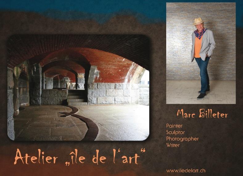 Dalla svizzera i dipinti di Marc Billeter presso la Badia