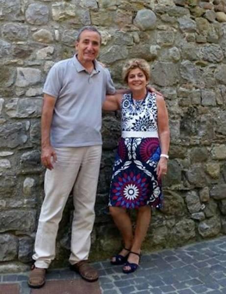 Salvatore Ravo e Laura Ricci alla Rocca di Ficulle con libro, mostra e finissage