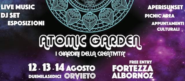 Il giardino atomico dei giovani, festival creativo alla fortezza Albornoz