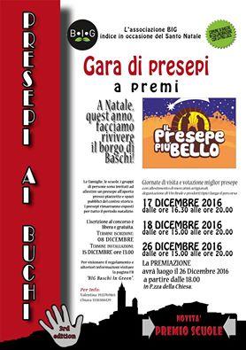 Gara di presepi nel borgo di Baschi, iscrizioni entro il 15 dicembre