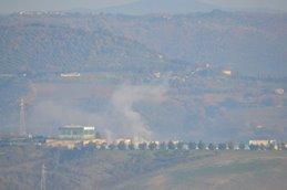 Colonna di fumo bianco da Le Crete, si tratta solo di vapore acqueo