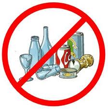 A San Silvestro vietata vendita e somministrazione bevande in bottiglie di vetro o metallo