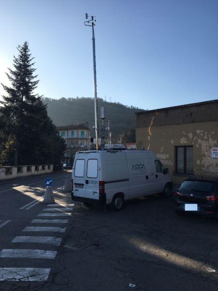 Ad Orvieto scalo attiva la centralina Arpa per monitoraggio qualità dell'aria