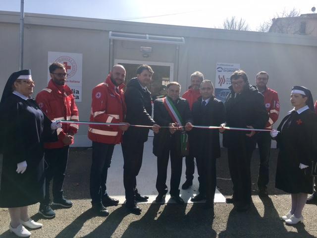 Inaugurato nuovo presidio sanitario a Cascia, finanziato da Bpb e Cro