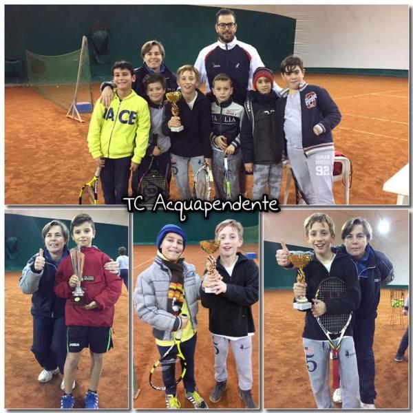 Alessandro Muccifora  e Tommaso Rocchigiani vincitori al Circolo Tennis Acquapendente