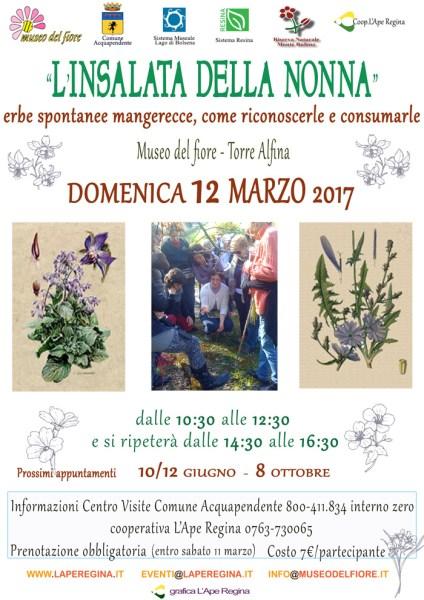 """Al Museo del Fiore al via la V edizione de """"L'insalata della nonna"""""""