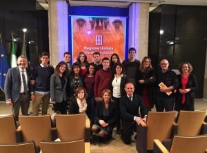 Studenti del liceo scientifico Majorana di Orvieto in audizione alla Prima commissione dell'assemblea legislativa