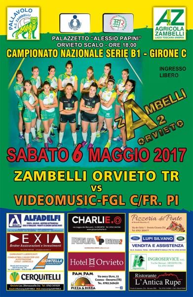 Zambelli Orvieto: gran finale al Pala-Papini contro Castelfranco