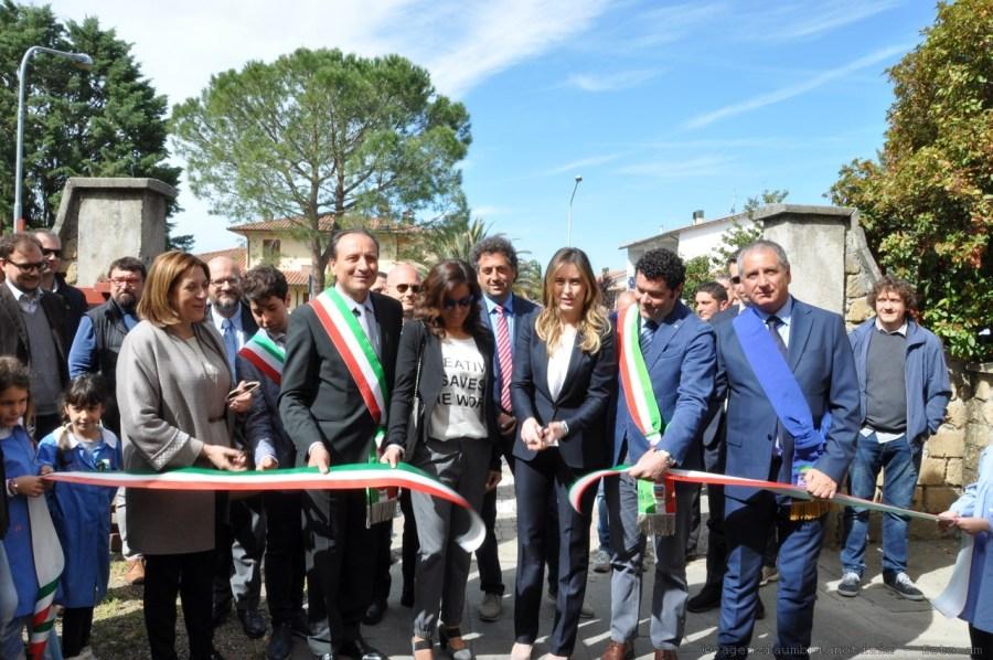 Alla scuola Muzio Cappelletti di Allerona, inaugurati i lavori di ristrutturazione