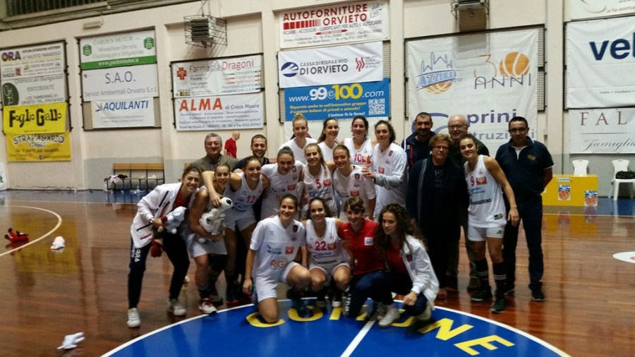 E' Azzurra Orvieto la squadra più votata nel sondaggio di OrvietoSport