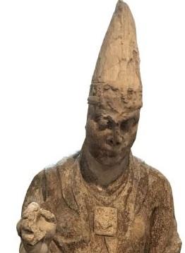 """Statua di Bonifacio VIII in mostra dal Museo """"C. Faina"""" di Orvieto a Mannheim"""