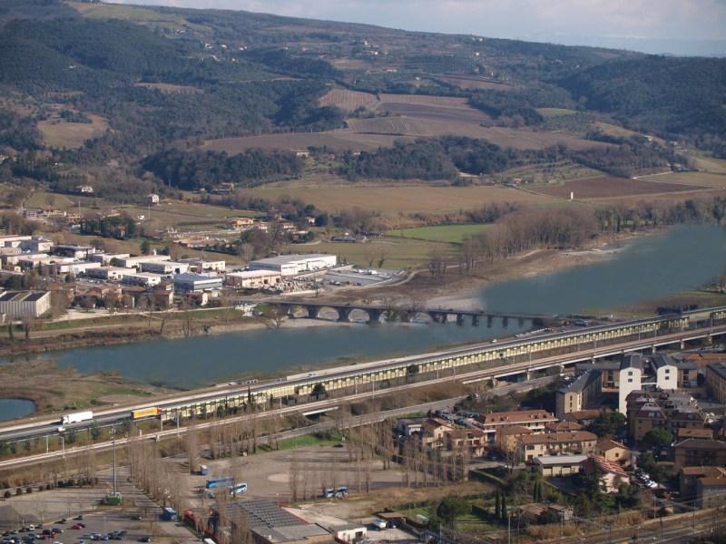 In cosa consistono i lavori appena ultimati di mitigazione del rischio alluvione lungo il fiume Paglia, Chiani e il torrente Carcaione