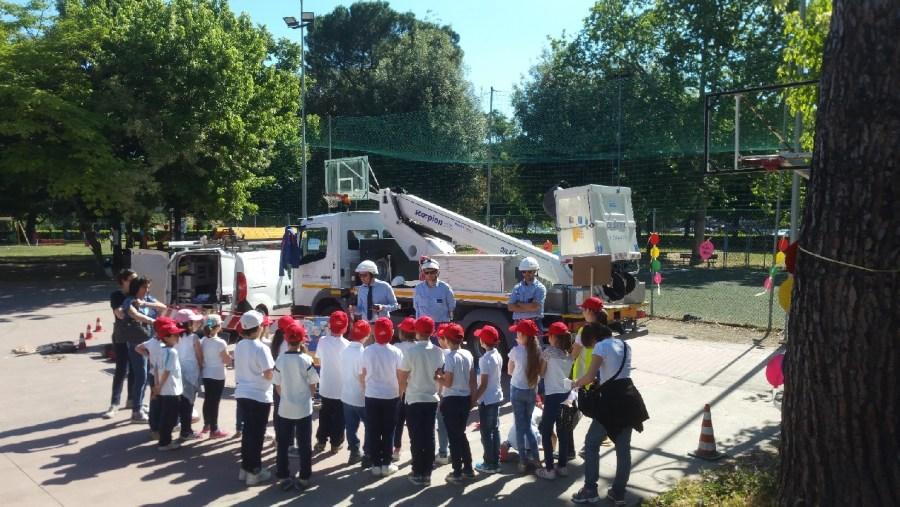 La sicurezza elettrica spiegata ai bambini della Scuola Primaria di Orvieto Scalo