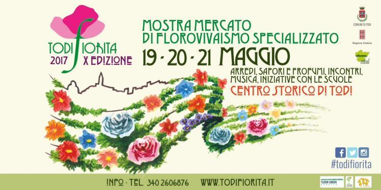"""Architettura dei Giardini, """"AgriCultura"""", Moda e Musica per il secondo giorno di """"Todi Fiorita"""