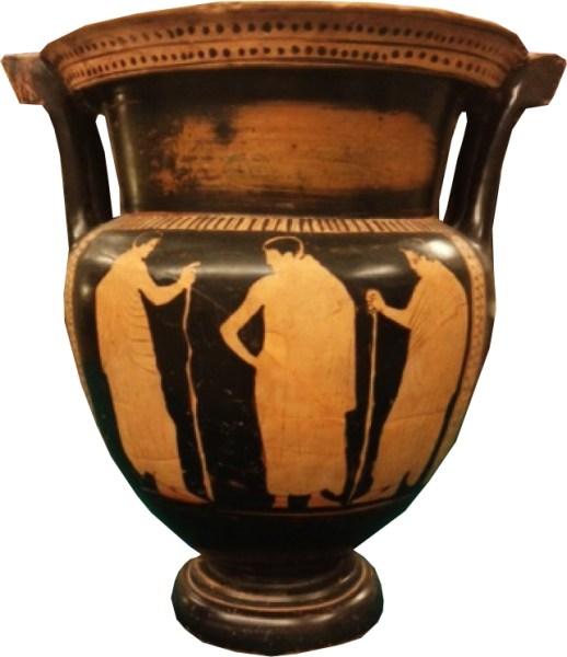 Collezione Mario Lolli Ghetti di 22 vasi attici esposti al Museo Claudio Faina