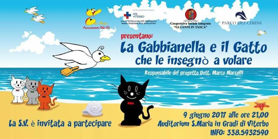 La Gabbianella e il gatto di Sepulveda portato in scena da Eta Beta onlus