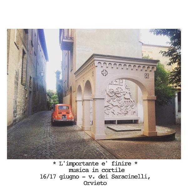 """""""L'importante è finire, musica in cortile"""", due giorni di eventi per chiusura stagione radiofonica di Radio Orvieto Web"""