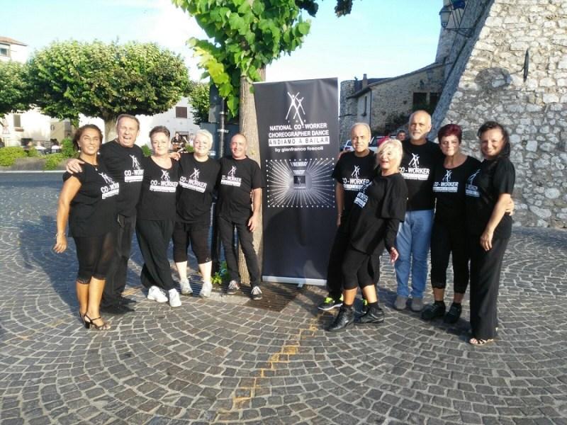 Arte e cultura, un successo annunciato ad Alviano con il gruppo di ballo co-worker di Gianfranco Foscoli