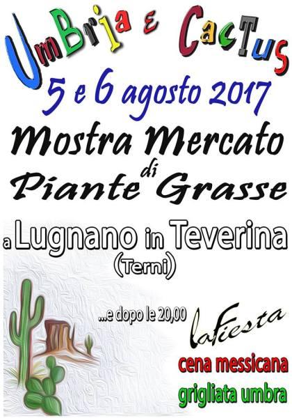 "A Lugnano in Teverina inizia ""Umbria e Cactus"""