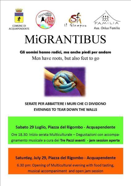 """""""Migrantibus"""", a Acquapendente una serata multiculturale"""