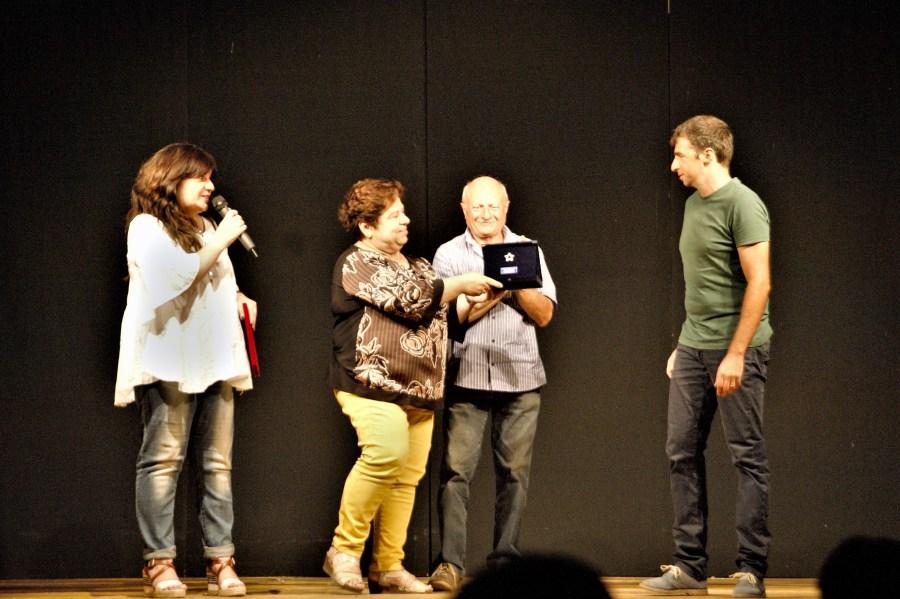 Marco Mittica riceve il Premio Stella D'Argento per i monologhi al Festival Stella D'Oro di Allerona