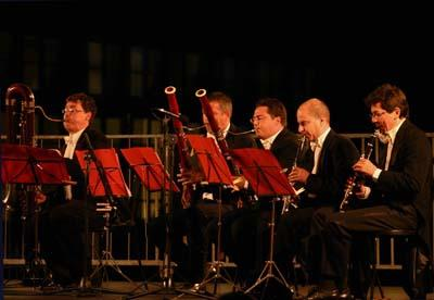 I Fiati di Parma in concerto a Città della Pieve il 3 settembre