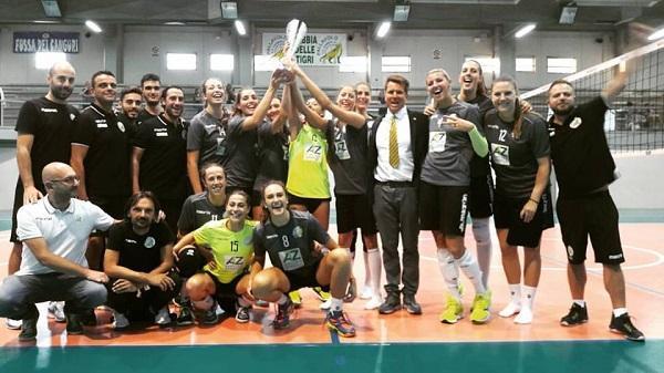 La Zambelli Orvieto vince la settima edizione del Trofeo Agricola Zambelli