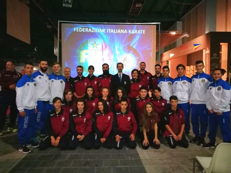 Scuola keikenkai in partenza per i mondiali Iku a Kilkenny
