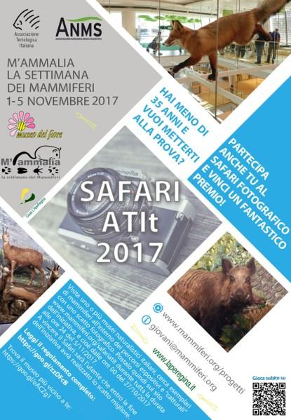 """""""M'ammalia 2017: mammiferi alla prova del nove"""", appuntamento per grandi e piccini al Museo del Fiore"""