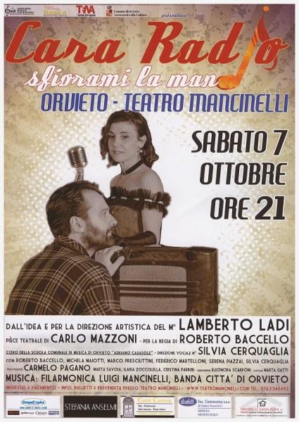 Cara Radio, sfiorami la mano. Appuntamento al Mancinelli con la commedia musicale del maestro Ladi